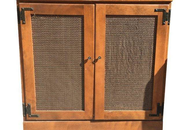 Vintage Ethan Allen Record Cabinet Chairish