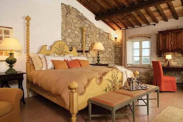 Vintage Furniture Italian Decorating Ideas Bedroom