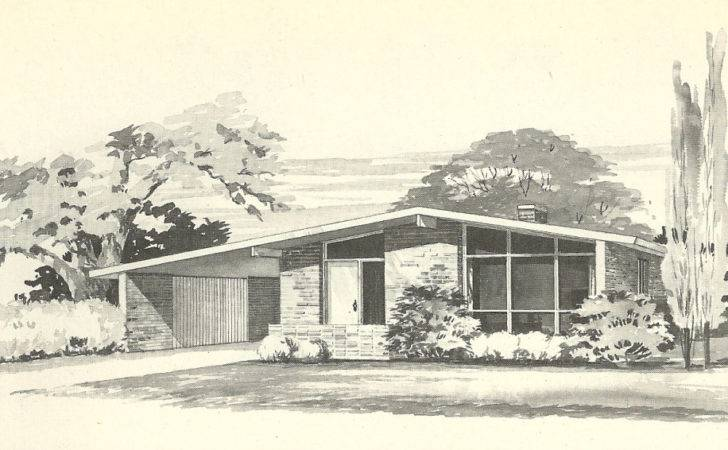 Vintage House Plans More Mid Century Modern Homes