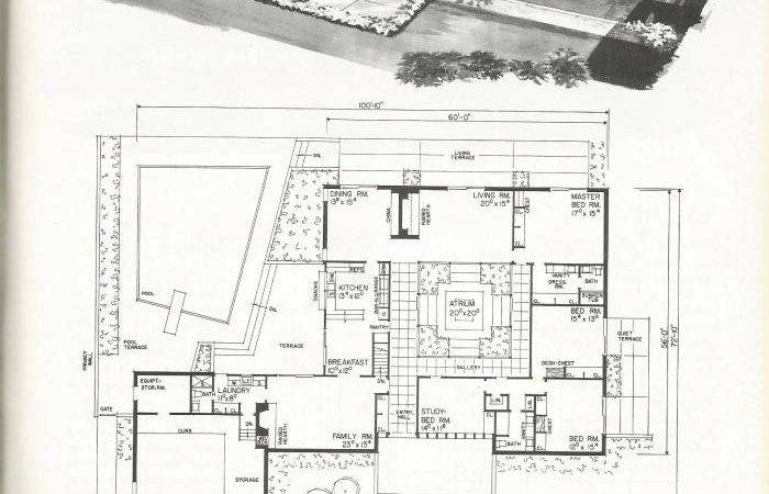 Vintage House Plans New Refreshing Mid Century