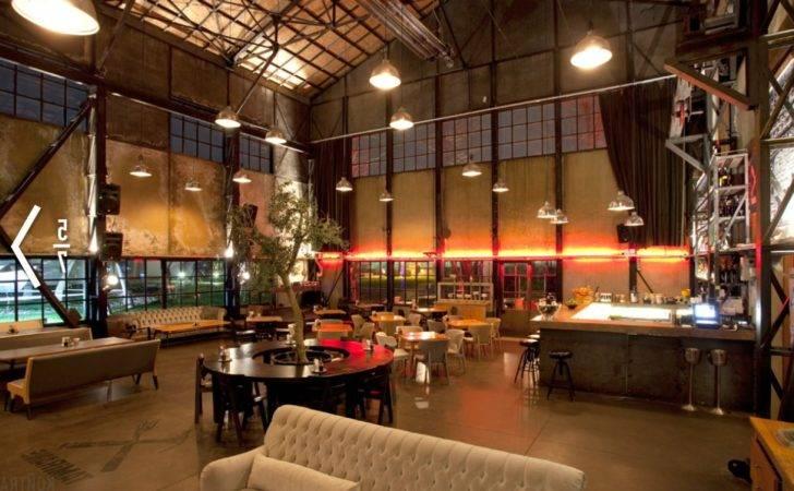 Vintage Industrial Extraordinary Cafe Interior Design Ronikordis