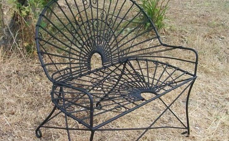 Vintage Iron Patio Furniture Pinterest Wrought Lzk