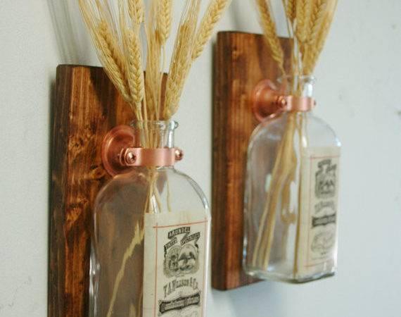 Vintage Labels Unique Square Jars Wall Pineknobsandcrickets