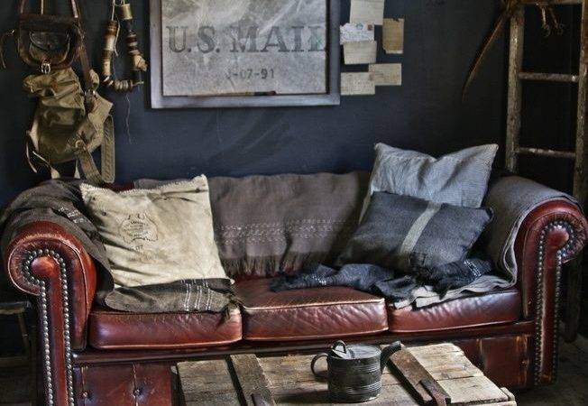 Vintage Masculine Interior Design