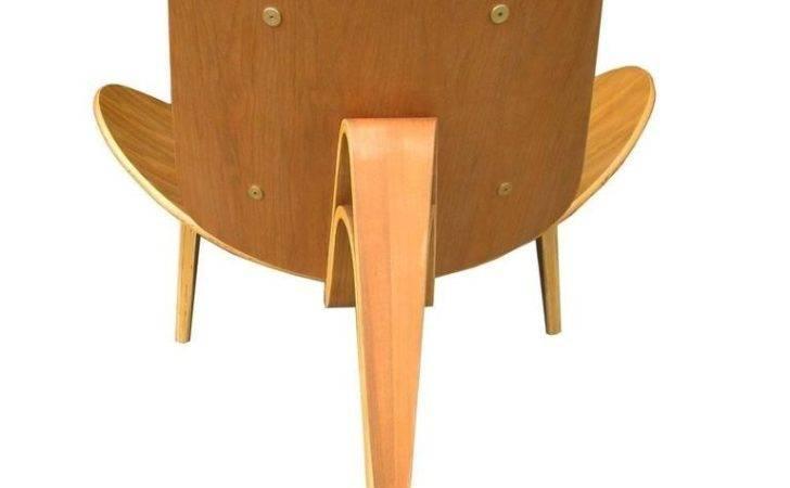 Vintage Midcentury Hans Wegner Skalstol Shell Chair Carl Hansen