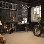 Vintage Motorcycle Garage Mitika Dimov House Design Decor