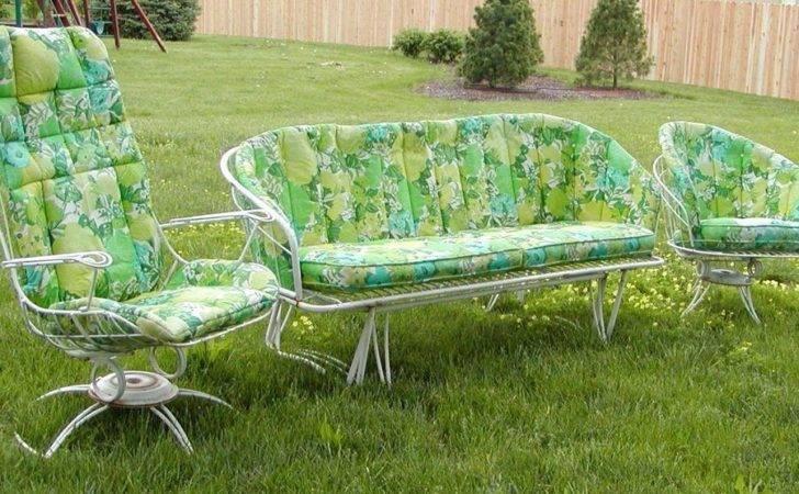 Vintage Patio Outdoor Lawn Deck Furniture Metal Iron
