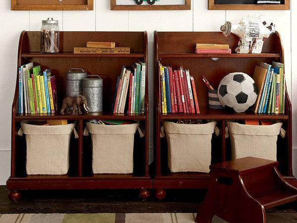 Vintage Playroom Storage Ideas