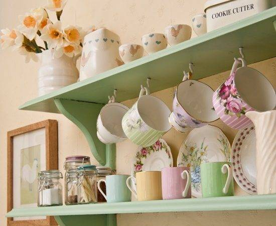 Vintage Shelves Hooks Kitchen Shelving Best Ideas