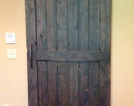 Vintage Sliding Barn Door Custom Made Fit Your Goodfromwood