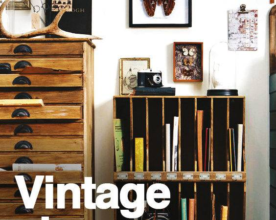 Vintage Storage Ideas Decorative Stylish Home Organization