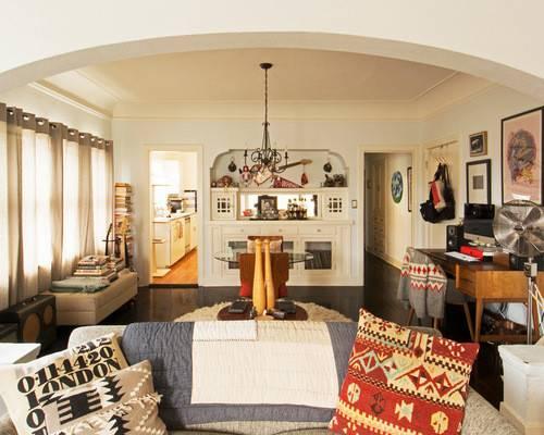 Vintage Style Living Room Furniture Decorating Ideas