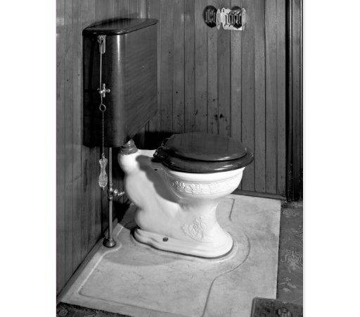 Vintage Toilet Postcard Zazzle