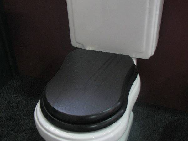 Vintage Toilet Victorian Side Bathrooms