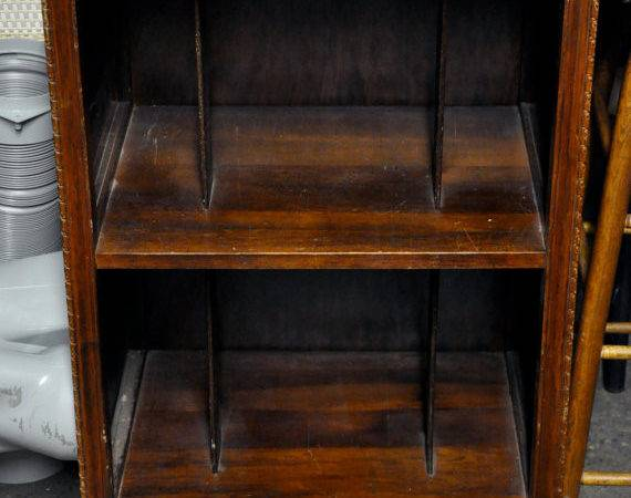 Vintage Wooden Record Cabinet Bastavintage Etsy