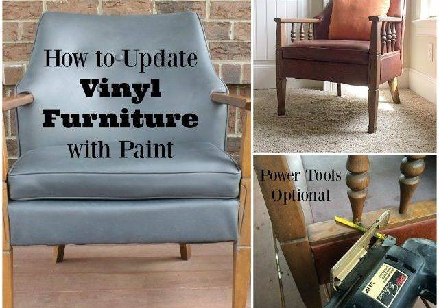 Vinyl Chair Paint Leather Furniture Painting