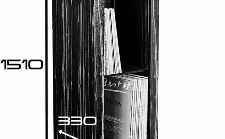 Vinyl Storage Cabinet Furniture Unit Bespoke Custom