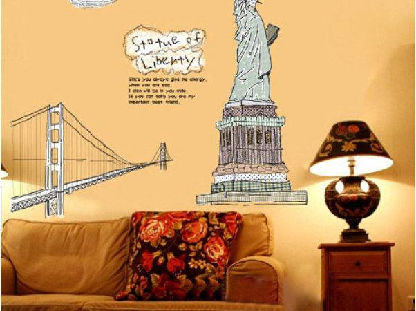 Vinyl Wall Stickers Urban Decal Office Decoration Room Adhesive