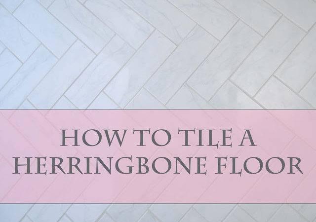 Visual Eye Candy Tile Herringbone Floor Part