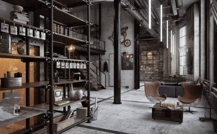 Visualizer Mxlancer Classic Masculine Industrial Loft