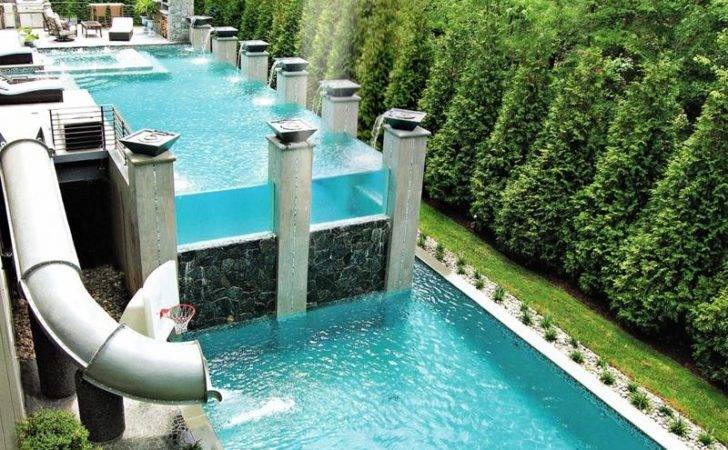 Visually Interesting Ground Pool Designs Your Home