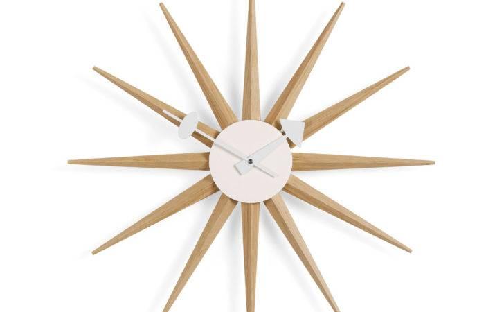 Vitra George Nelson Sunburst Clock Atomic Interiors