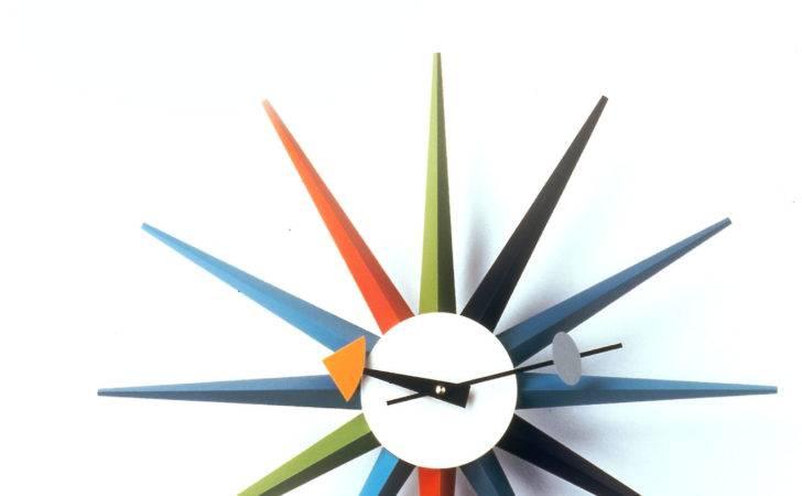 Vitra George Nelson Sunburst Clock Thelollipopshoppe