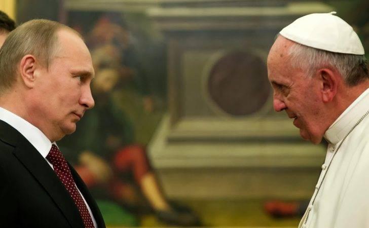 Vladimir Putin Holds First Meeting Pope Francis Html