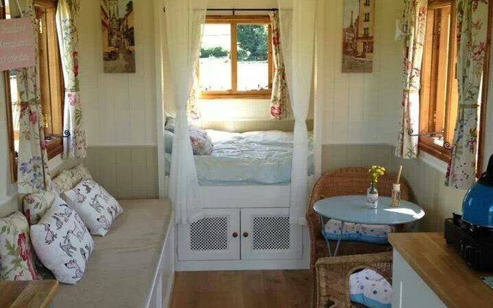 Wagon Interior Small House Home Tiny Cottages Cabincaravan