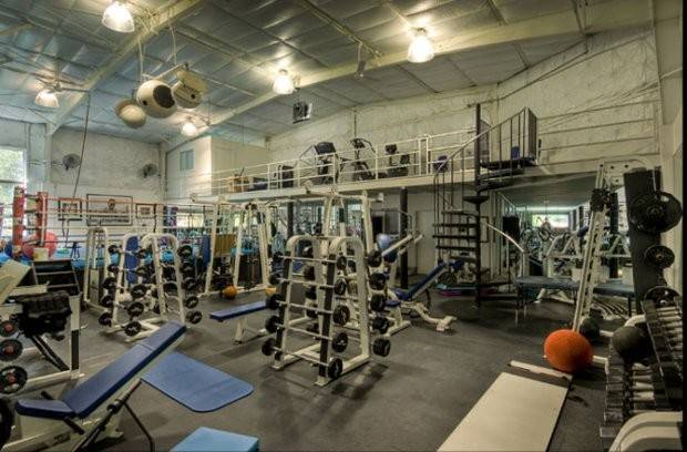 Wahlberg Home Gym Current Approximately Feet