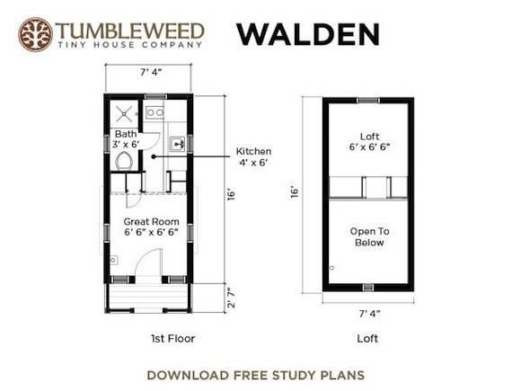 Walden Tiny House Dormers