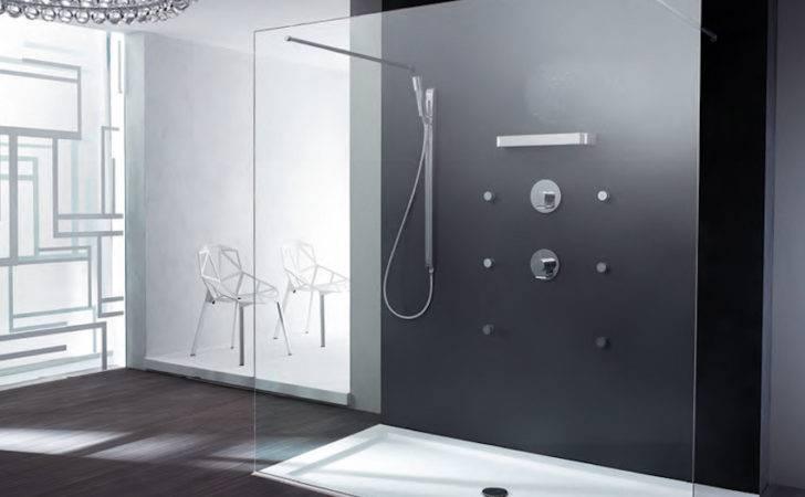 Walk Shower Model Extra Hard Glass Double Safety Bar