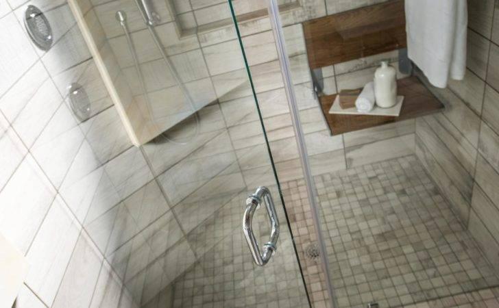 Walk Shower Room Interior Design Contains Prepossessing