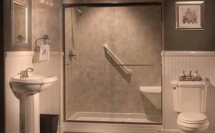 Walk Showers Seats Lighting