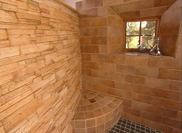 Walk Stone Showers Into Shower