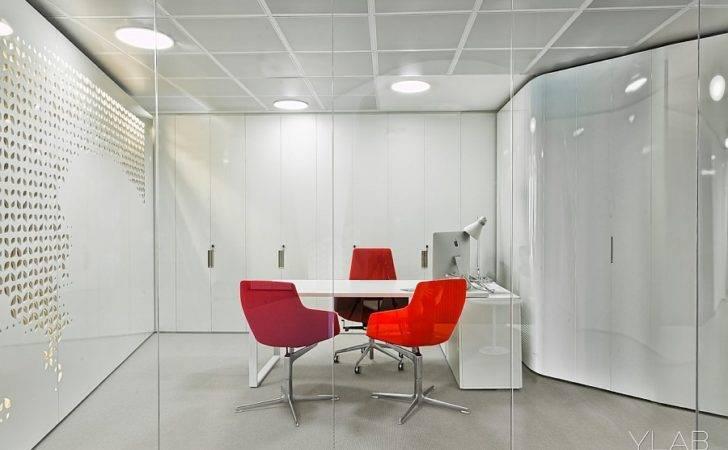 Wall Art Adds Texture Office Interiors Glass Design