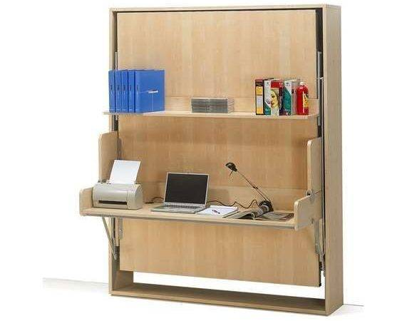 Wall Bed Desk Combo Small Spaces Pinterest