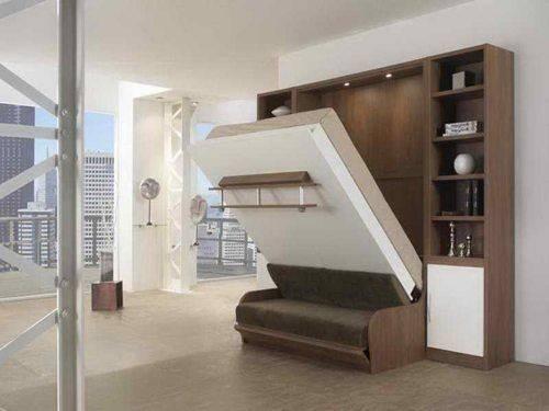 Wall Bed Ikea Murphy Pinterest