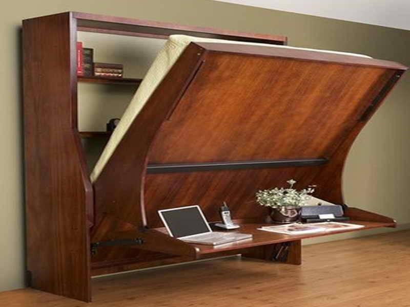 Wall Beds Desk Modern Murphy Hidden Hide Bed