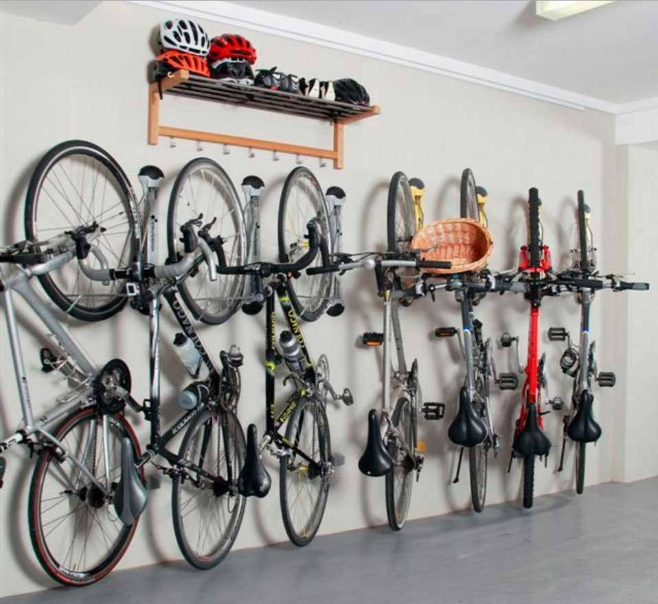 Wall Bike Storage Ideas Garage Helmets Selving Home