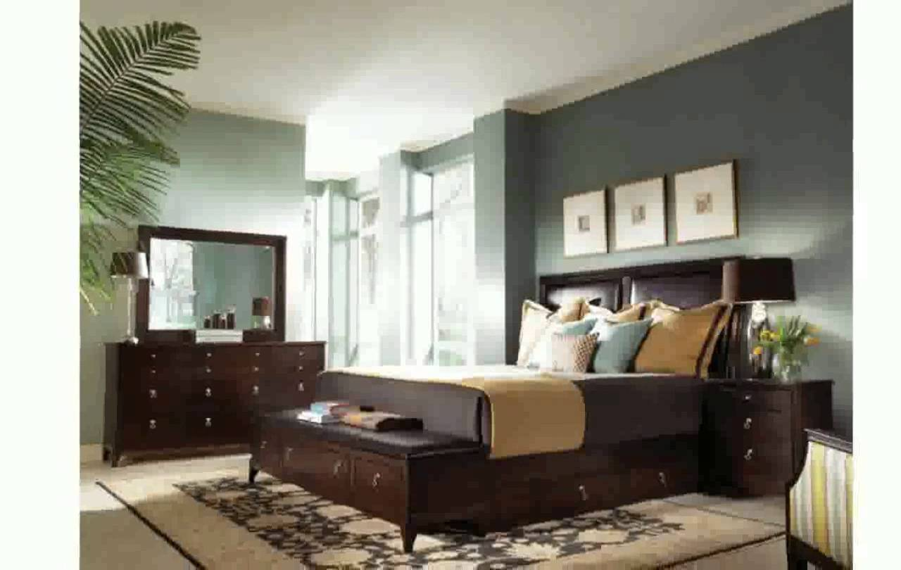 Wall Color Goes Brown Furniture Dark Hairs