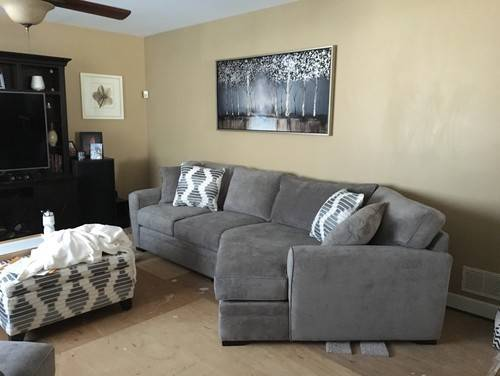Wall Colors Gray Couch