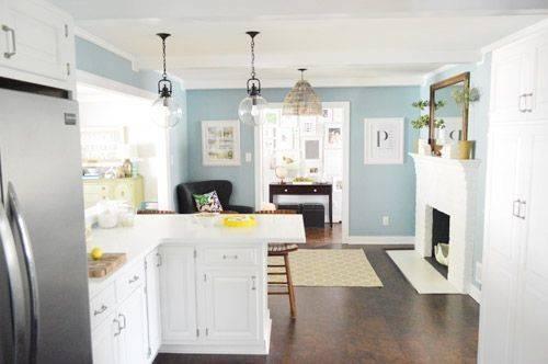 Wall Colors Kitchens Colorado Gray Benjamin Moore Blue