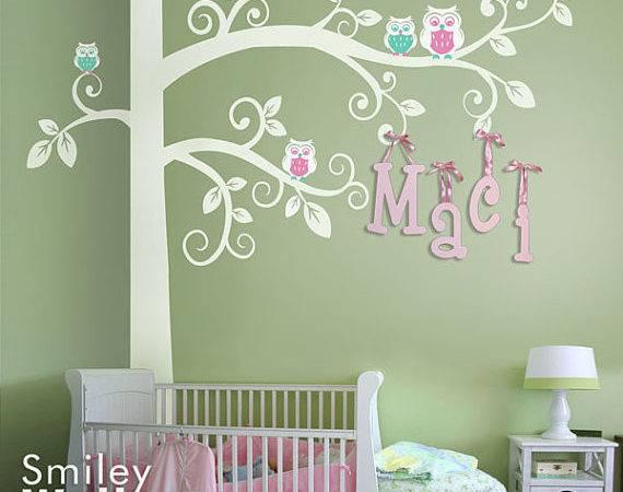 Wall Decal Corner Tree Kids Decals Sticker