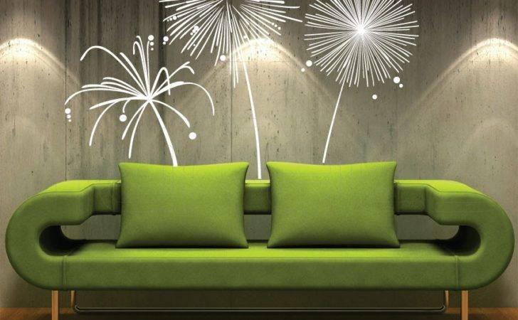 Wall Decal Fireworks Vinyl Shapes Modern Decor Decalsmurals