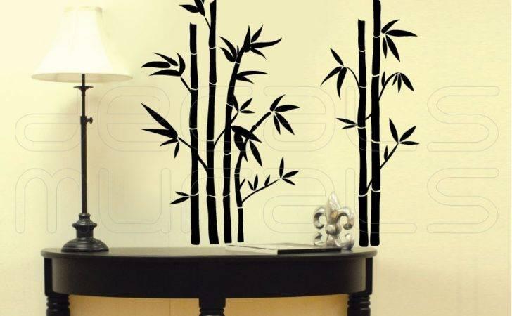 Wall Decals Bamboo Modern Stickers Vinyl Art Decalsmurals