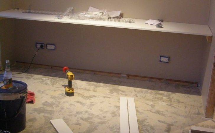Wall Floating Desk