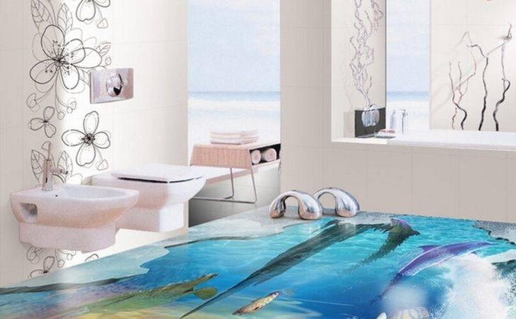 Wall Floor Tile Bathroom Ceramic