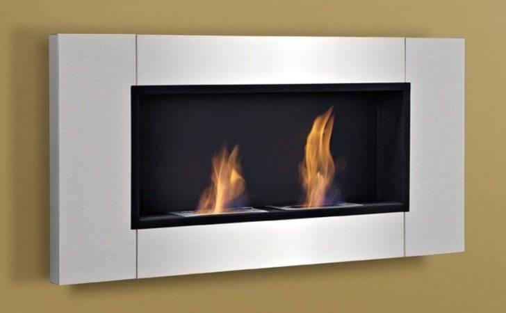 Wall Mount Fireplace Bio Ethanol Indoor Outdoor