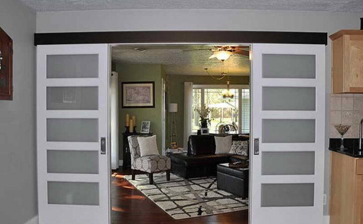 Wall Mount Sliding Doors Interior Top